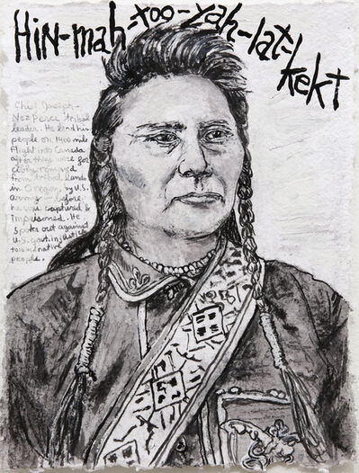 Dale Williams, 'Awareness Day Portraits - Chief Joseph', 2018