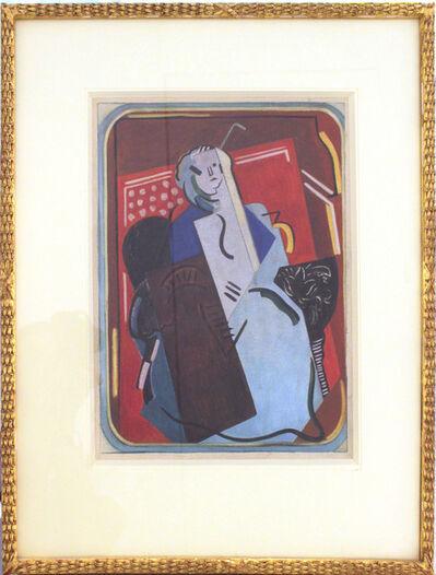 Albert Gleizes, 'Femme au Fauteuil (La Vielle Dame)', 1923