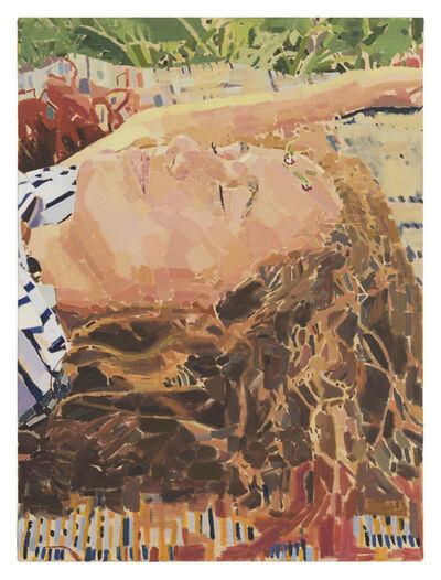 Fatma Shanan, 'Lara and Two Flowers', 2020