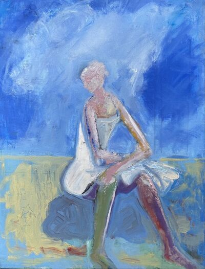 Frank Capezzera, 'Woman Seated by the Sea', 2021