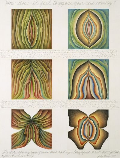 Judy Chicago, 'Rejection Breakthrough Drawing, from the Rejection Quintet', 1974