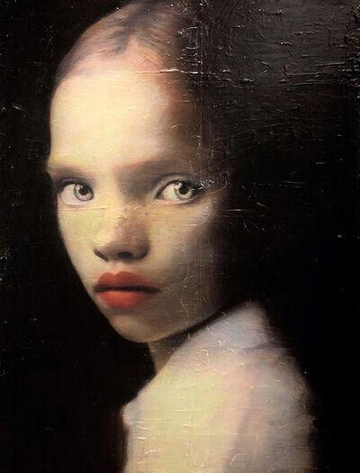 Lavely Miller-Kershman, 'Girl in White Blouse', 2021