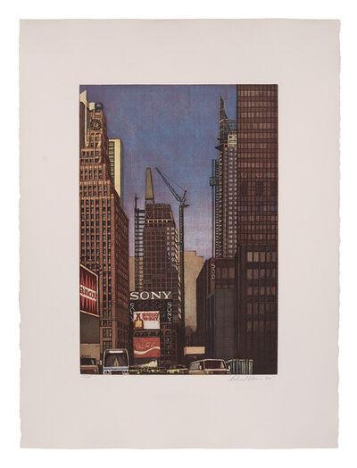 Richard Haas, 'Hong Kong View, Bank Of China Tower; Times Square Looking North; Lexington Looking North, Central Synagogue', 1990 (2) and 1991