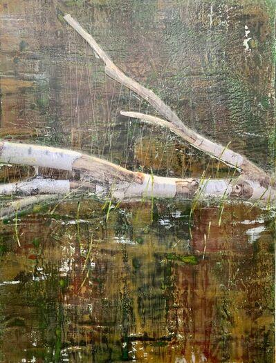 Ava Roth, 'Encaustic Sewing, Lake Grass', 2018