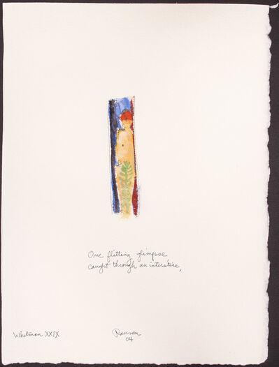 John Ransom Phillips, 'One flitting glimpse...', 2004