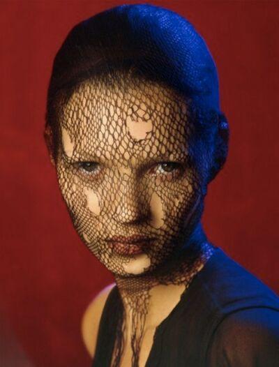 Albert Watson, 'Kate Moss Veil (color)', 1993