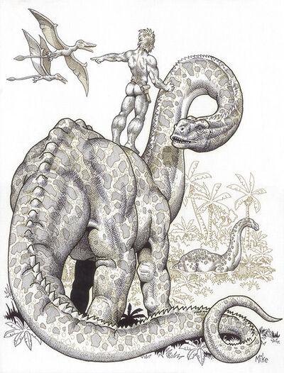 Mike Kuchar, 'Prehistoric Pets', 1980-1990