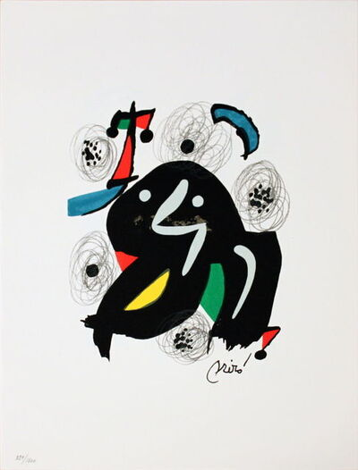 Joan Miró, 'Untitled (from La Melodie Acide V)', 1980