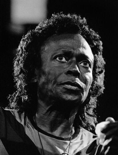 Herman Leonard, 'Miles Davis, Montreux', 1991