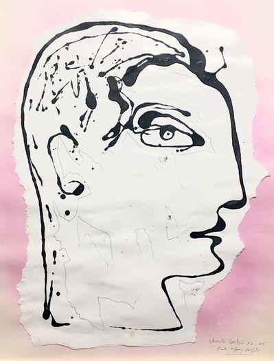 Christo Coetzee, 'Pink & grey profile ', 1992