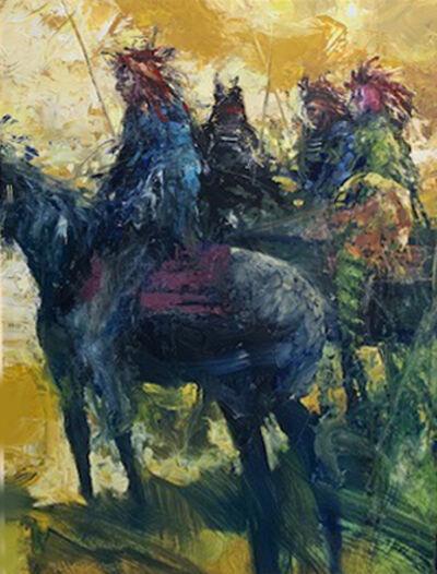 Rocky Hawkins, 'Mounted Enemy', 2019