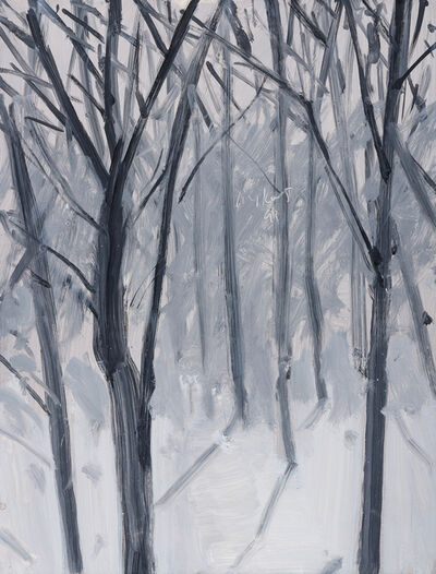 Alex Katz, 'Study for Snow', 1993