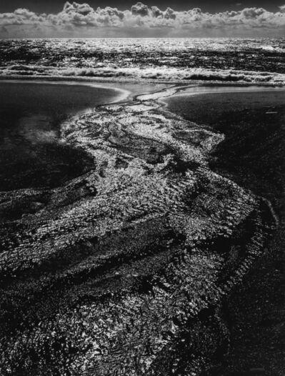 Ansel Adams, 'Stream, Sea, Clouds, Rodeo Lagoon, CA, 1962', 1962