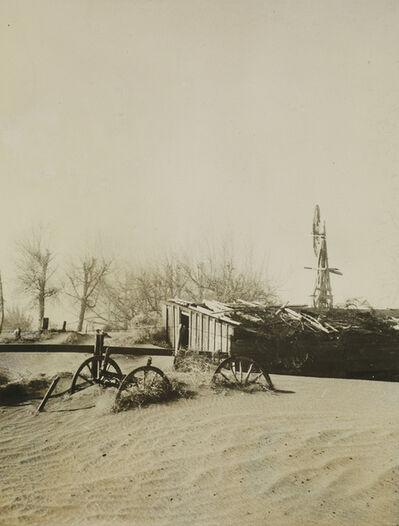 Arthur Rothstein, 'Results of a dust storm, Cimarron County, Oklahoma', 1936
