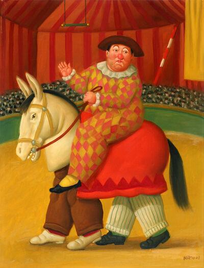 Fernando Botero, 'Three Clowns Horse', 2007