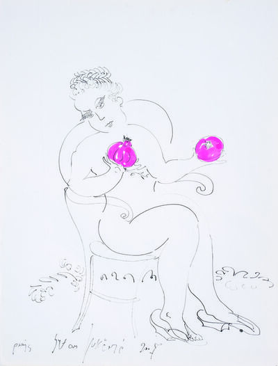 SRĐAN VUKČEVIĆ, 'A Woman Weighing on a Scale', 2007