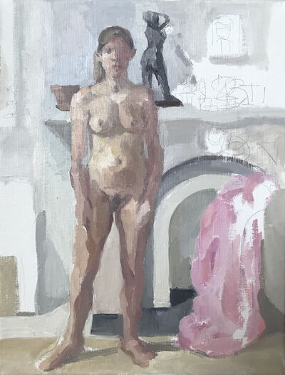 Alix Bailey, 'Self Portrait With Pink', 2019