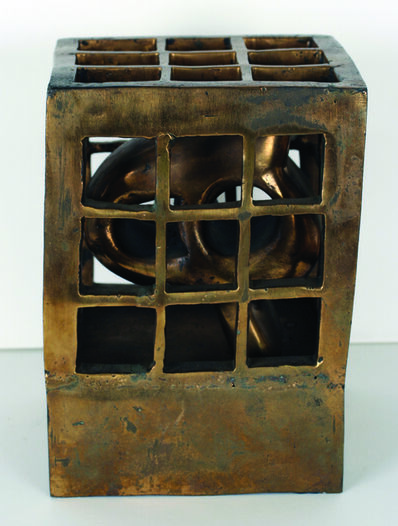 Parviz Tanavoli, 'A Cage for Letter H', 1970