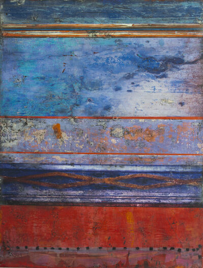 Claudia Marseille, 'Blue and Red', 2020