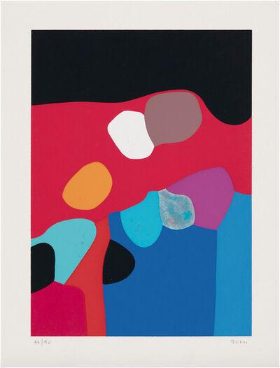 Alberto Burri, 'Untitled (Calvesi 45-50): One plate', 1973-1976