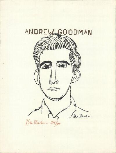 Ben Shahn, 'Human relations series -Andrew Goodman', 1965