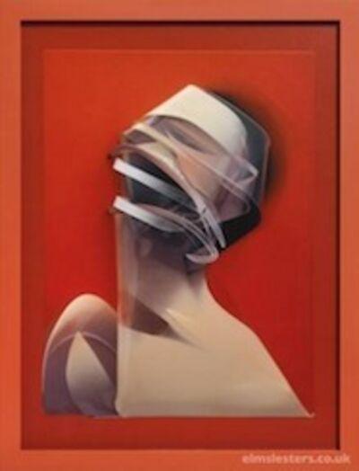 Adam Neate, 'Orange Dimensional Portrait Lenticular Edition', 2013