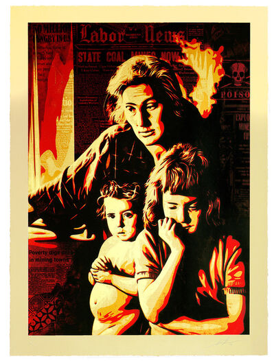 Shepard Fairey, 'Two Americas', 2016