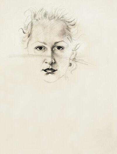 Hedda Sterne, 'Self portrait ', 1938