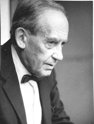 Lucien Hervé, 'Walter Gropius', around 1950