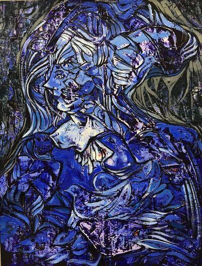 Fredy Villamil, 'Pigeon Ultramarine'