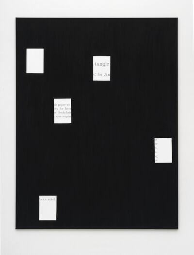 Andy Boot, 'white paper (IOTA) 1', 2017