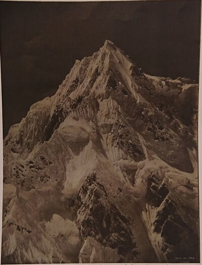 Vittorio Sella, 'HS 55, Siniolchun, 22570 feet telephotograph from Zemu Glacier'