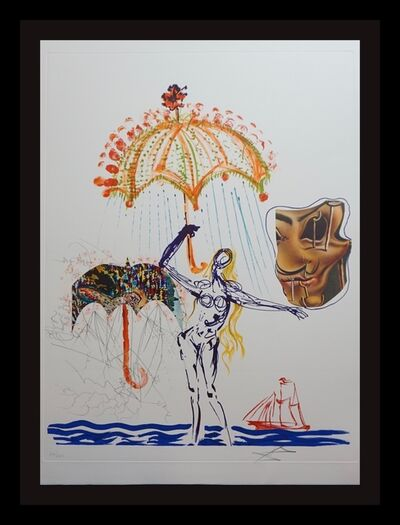 Salvador Dalí, 'Imaginations & Objects of The Future Anti-Umbrella with Atomized Liquid', 1975