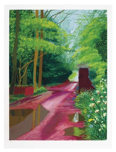 David Hockney, 'The Arrival of Spring in Woldgate, East Yorkshire in 2011 (twenty eleven) - 11 May 2011', 2011