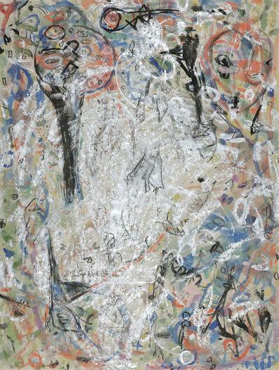 Gunter Damisch, 'Silver conglomerate', 1985