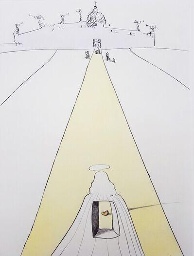 Salvador Dalí, 'Dieu, Le Temps, L'Espace et le Pape (God, Time, Space, and the Pope)', 1974