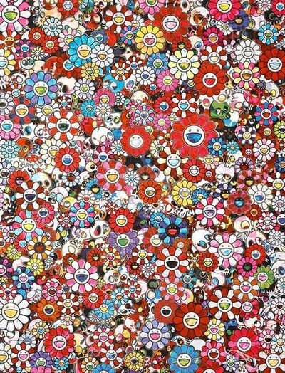 Takashi Murakami, 'Dazzling Circus: Embrace Peace and Darkness with Thy Heart', 2016