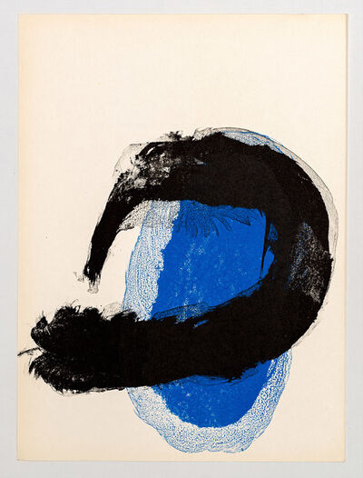 Joan Miró, 'Original Lithography from 'Derrière le Miroir -Miró 'Peintures Murales'', 1961