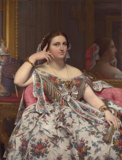 Jean-Auguste-Dominique Ingres, 'Madame Moitessier', 1856