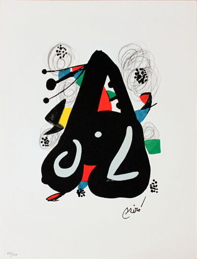 Joan Miró, 'Untitled (from La Melodie Acide XIII)', 1980