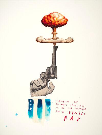 Oliver Jeffers, 'Gun Control II', 2018