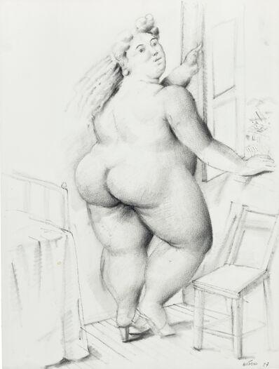 Fernando Botero, 'Woman in Front of Window', 1987