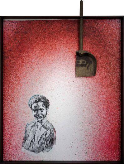 Edgar Arceneaux, 'Class Photo. Backdrop. Red', 2016