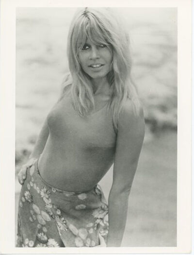 Unknown, 'Brigitte Bardot Photoshoot Circa 1970's Press Print', ca. 1970's