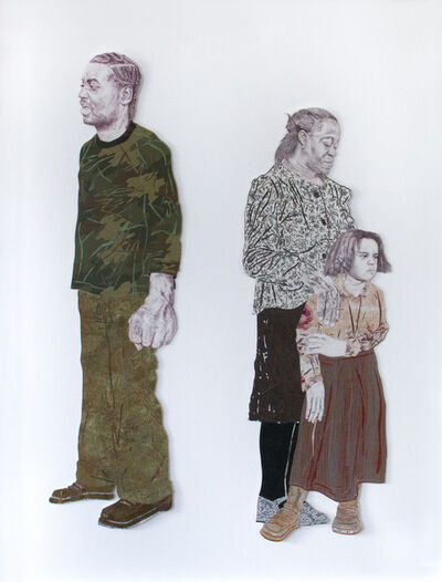 Craig Norton, 'Untitled (Man with Camouflage Shirt and Woman and Child)', 2009