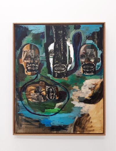 Damien Deroubaix, 'Conversation', 2018