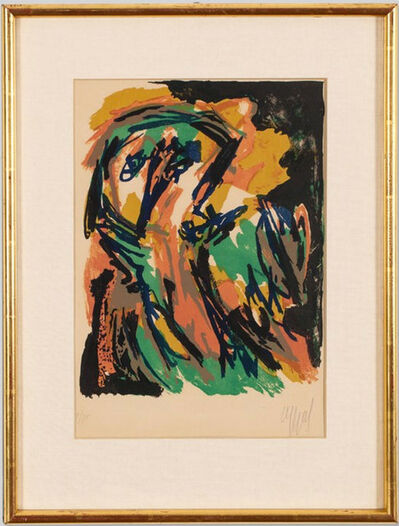 Karel Appel, 'Face', 1961