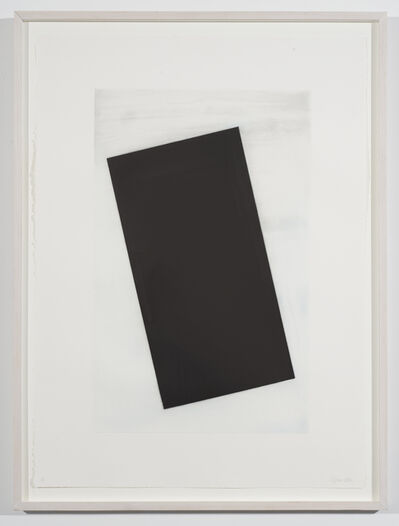 Cris Gianakos, 'Black Rectangle', 1991
