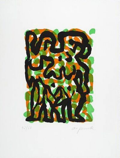 A.R. Penck, 'Zwillinge (Twins)', Unknown