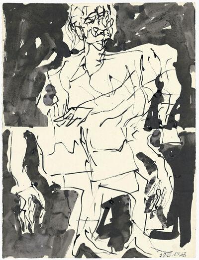 Georg Baselitz, 'Untitled [BASG/P15]', 2014